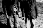 Кущовий ОУН зі своїм заступником, зловлені вояками Війська польського в районі Сянока».