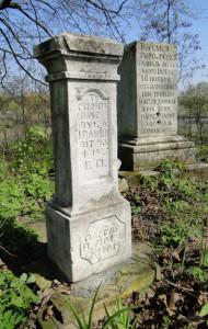Сільський цвинтар у Космові, на південь від Грубешева. Фото автора статті