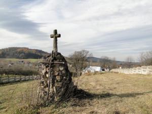 Під єдиним незнищеним пам'ятником на цвинтарі у Сянічку спочиває хорунжий Ярослав Микилита, який загинув 28 листопада 1918 р. Фото автора статті