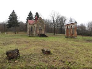Володж восени: склеп Тшцинських. Фото автора статті