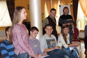 Молоді учасники проекту. Фото з архіву учасників