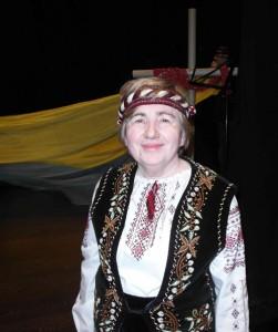 Ведуча й організаторка Марія Мирга. Фото автора статті