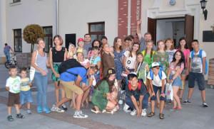 Молоді українці на спокійних канікулах у Люблині. Фото авторки статті
