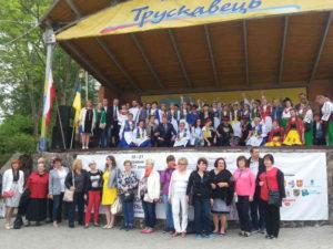 <strong>Музика зносить кордони. Українці та поляки на сцені і під сценою міжнародного свята в Трускавці.</strong> Фото авторки статті