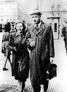strong>Олег Ольжич з дружиною Катериною Білецькою</strong>. Фото з сайту «Історичної правди»