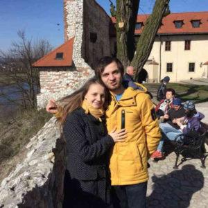 <strong>Катерина Бурда та Ігор Луцик</strong>