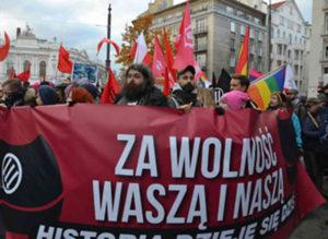 <strong>Антифашистська демонстрація</strong>. Фотографії Катерини Семчук