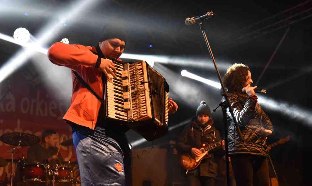 Гурт «Гойраки» був зіркою цьогорічного ВОСД у Більську-Підляському. Фото Івана Бакуновича