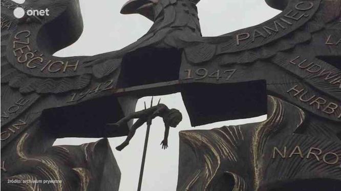Торунь. Контроверсійний пам'ятник. Фото з Onet.pl