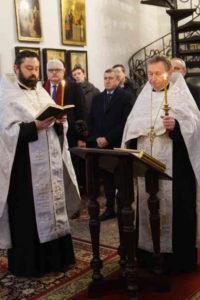 Молебень за Україну у православній церкві у Варшаві. Фото Катерини Семчук