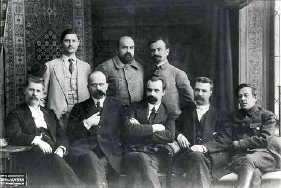 Генеральний секретаріат Української Центральної Ради, 1917 р. Фото з Вікіпедії