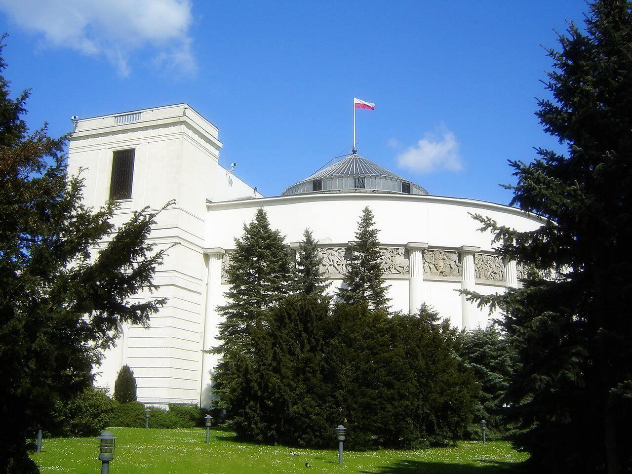 Будинок Сейму РП. фот. wikipedia.org