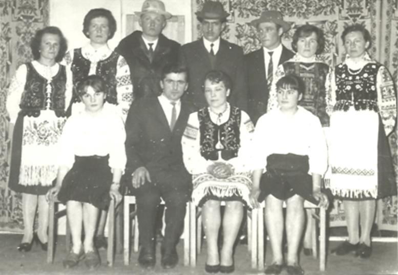 ▲ Шевченківське святкування в Асунах, 1965 р. Фото з архіву Лідії Лойко