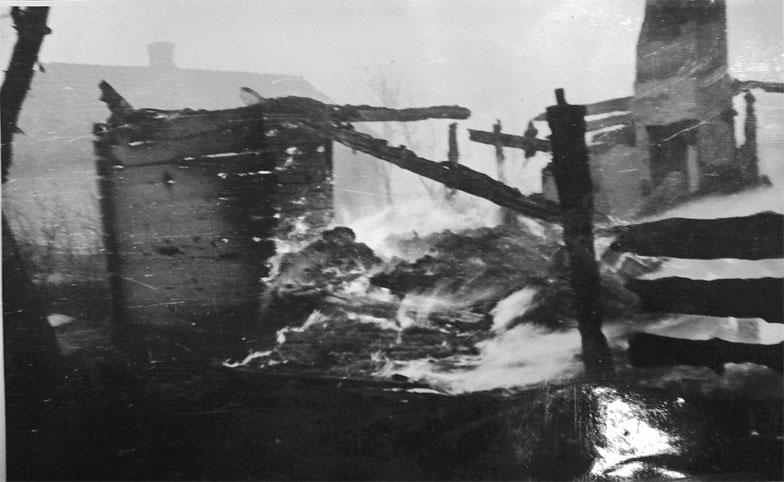 Сагринь 10 березня 1944 року. Фот. з архіву Нашого слова