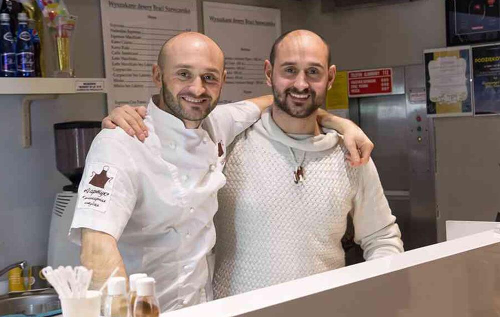 Роман (зліва) та Сергій. Автор фото Богдан Хмельницький