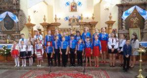 Молоде покоління виступило у доброміському храмі з творчою програмою