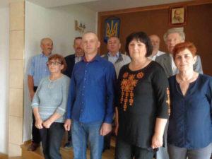 Новообрана управа гуртка ОУП у м. Моронґ. Фото автора статті