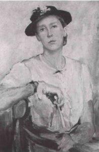▲ Людмила Морозова, «Автопортрет», 1942 р.