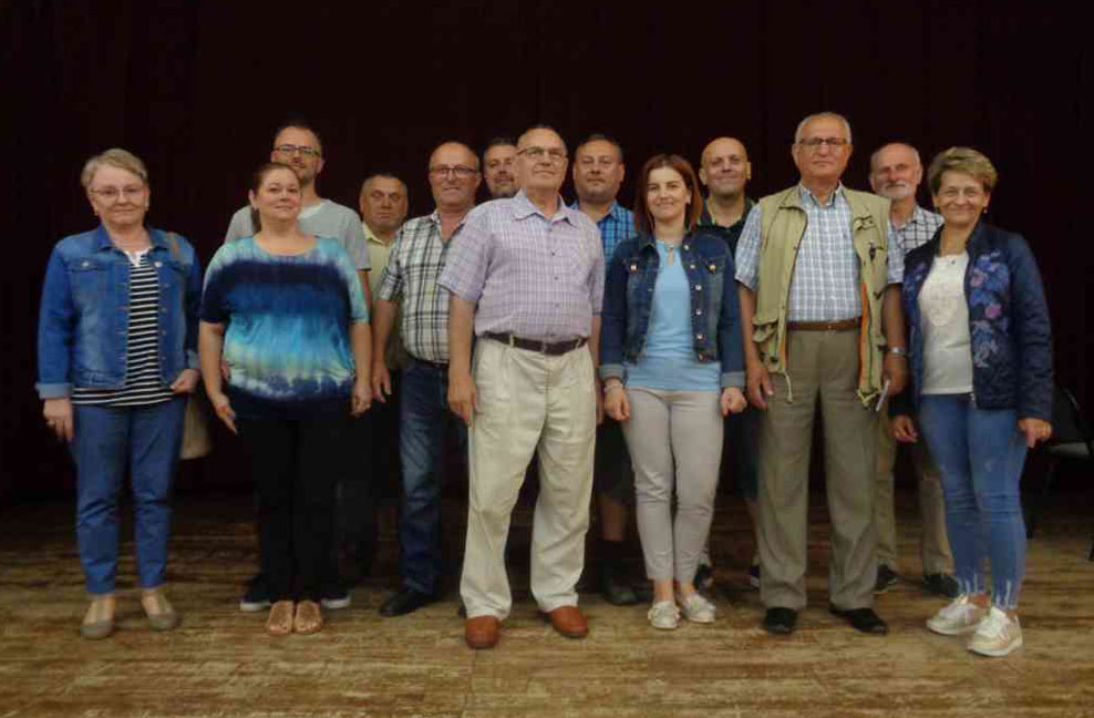 Управа і члени гуртка ОУП в Доброму Місті. Фото Степана Мігуса