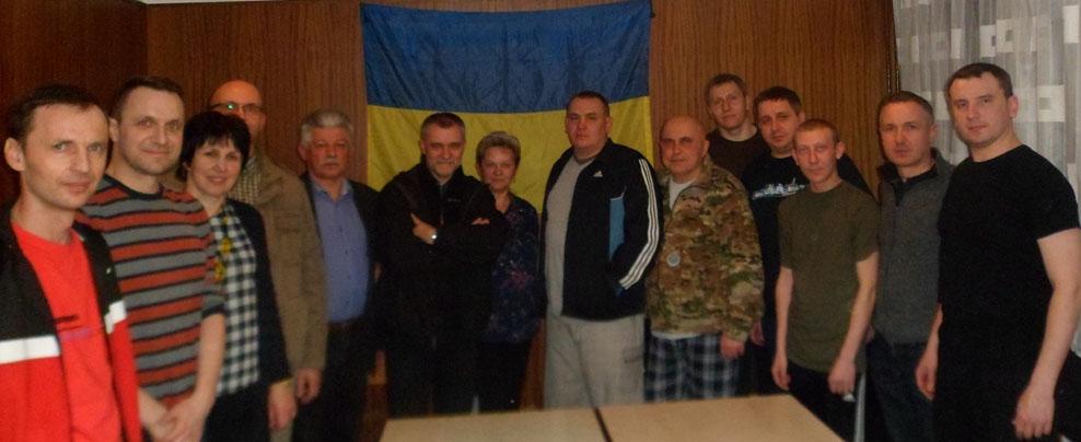 «Підтримаймо поранених бійців – захисників незалежної України»