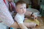 Галя Комар з онуком Стефком