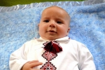 Іван Лучковський, 20.05.2015 (Удор- п'є), вага 4320 г, ріст 60 см, син Ольги і Томи.