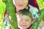 Мама Ірина Борущак-Губ'як і син Борис. Ґожів-Великопольський