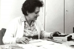 Анна Ціханович – довголітня коректорка, а з 1972 р. – технічний редактор «НС»