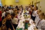 Бартошиці. Святвечірня зустріч в українській школі в Бартошицях. Фото Любомири Тхір