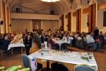 Лігниця. При одному столі зустрілися на святковій вечері представники 12-и нацменшин міста. 17 грудня 2017. Фото Богдана Бухти