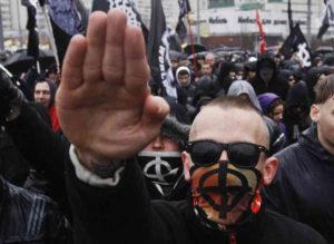 Неонацистський марш в Москві. Джерело: Reuters