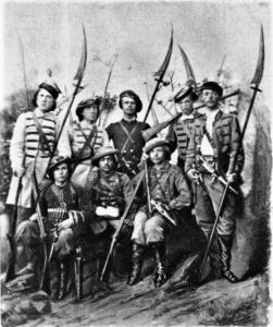 ▲ Загін повстанців «Косарі». Фото з Вікіпедії